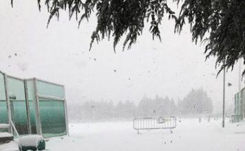 Stadio Angelini Chieti neve