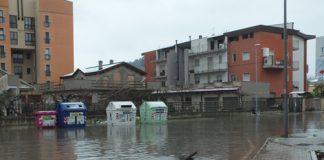 allagamento a Pescara zona Ag. delle Entrate