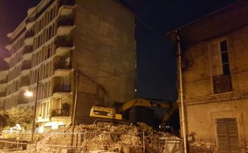 demolizione Borgo Marino