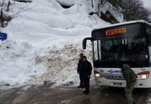 emergenza Abruzzo autobus Tua
