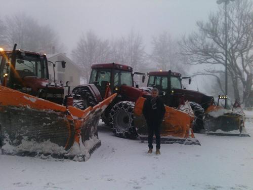 neve mezzi di intervento in Provincia di Teramo