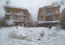 neve centro storico Chieti