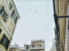 paesaggio neve Chieti