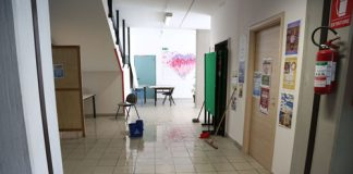 scuola allagata Pescara
