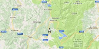 terremoto 5.3 Montereale