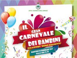 Carnevale dei bambini 2017 a Roseto