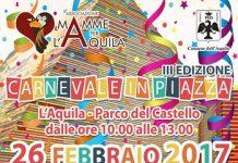Carnevale in piazza 2017 L'Aquila