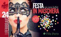 Festa in maschera a Villa Paris
