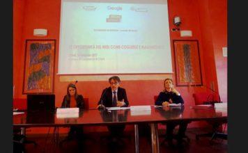 Foto relatori, da sx Sara Della Monica, Roberto Di Vincenzo, Paola Sabella