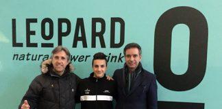 Stefano Nepa al Mondiale Junior con il Leopard Junior Team