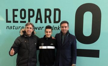 Stefano Nepa al Mondiale Junior con il Leopard Junior Team