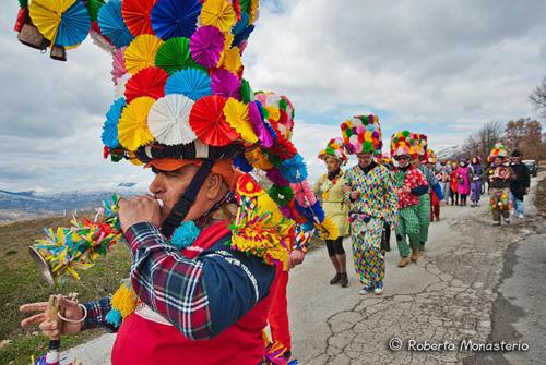 festa di carnevale a Schiavi di Abruzzo