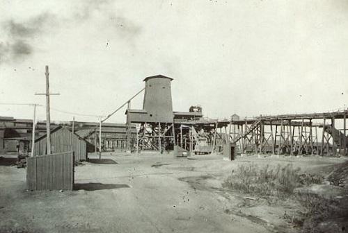 """la miniera della """"Coal Company""""di Toluca"""