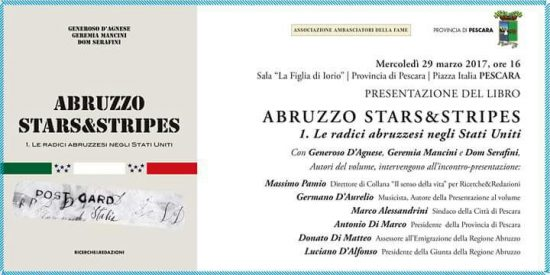 """""""ABRUZZO STARS&STRIPES"""" di GENEROSO D'AGNESE"""