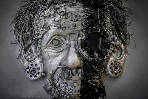 Albert Einstein by Ranya Art