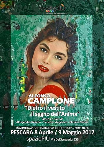 Alfonso Camplone mostra Dietro il vestito il segno dell'anima
