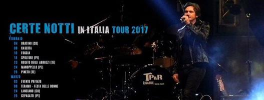 Certe Notti in Italia tour 2017 - Tra palco e realtà cover band Ligabue