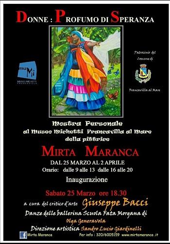 Donne Profumo di Speranza - mostra di Mirta Maranca