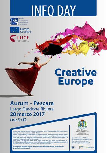 Europa Creativa locandina