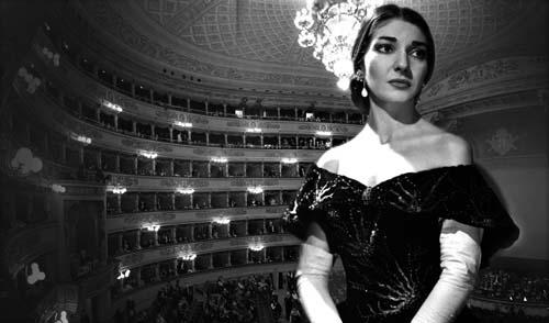 Maria Callas al Teatro La Fenice