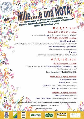 Mille e una nota-Leoncini d'Abruzzo in concerto