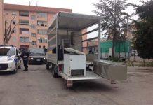 Montesilvano, Via Rimini pulizia delle aree esterne delle case Ater