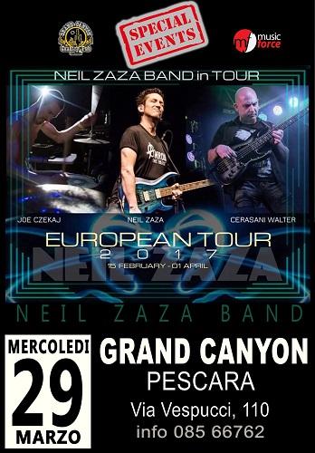 Neil Zaza European Tour