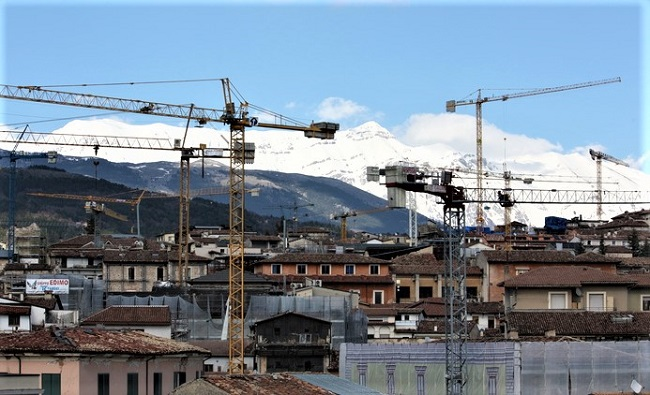 Ricostruzione a L'Aquila