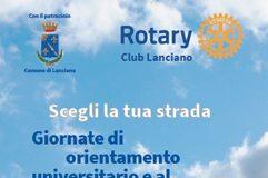 Scegli la tua strada - Rotary Lanciano orientamento 2017