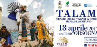 Talami di Orsogna 2017 locandina