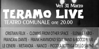 Teramo Live locandina