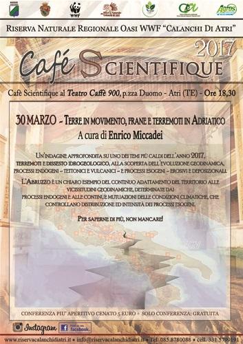 Terre in movimento, frane e terremoti in Abruzzo - Café Scientifique