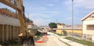 cantiere via saragat Montesilvano