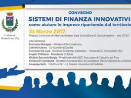 convegno finanza innovativa a Montesilvano