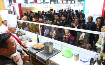 cooking show foodex 2017