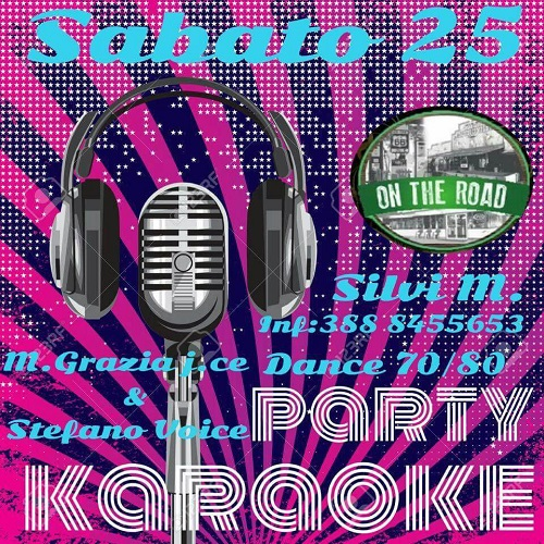 dance & karaoke on the road silvi marina
