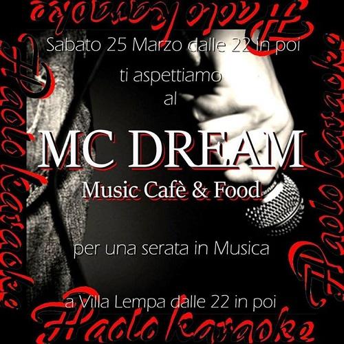 karaoke dance caffè mc dream villa lempa teramo