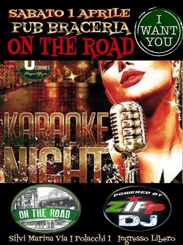 karaoke night on the road silvi marina
