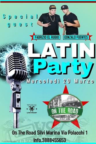 latin party on the road silvi marina