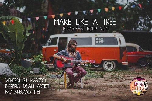 make like a tree birreria degli artisti notaresco