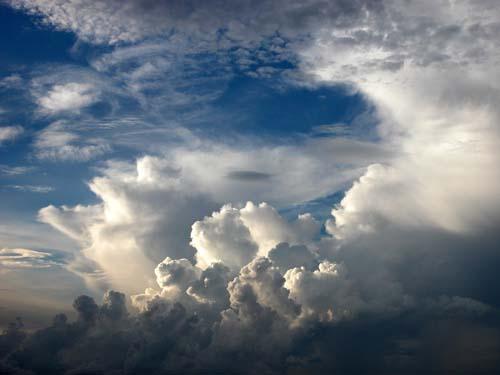 nuvole sparse