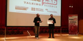 premiazione Famelab L'Aquila