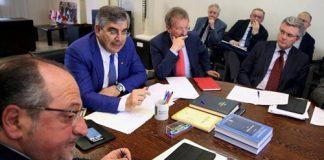 riunione presieduta dal governatore Luciano D'Alfonso