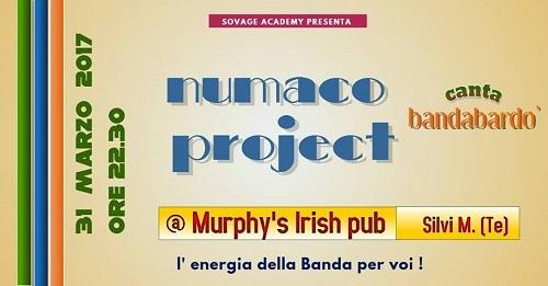 tribute band bandabardo- numaco project-murphy's irish pub silvi marina