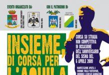 Insieme di corsa per L'Aquila 2017