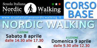 8 - 9 aprile 2017 , corso base di Nordic Walking ad Avezzno