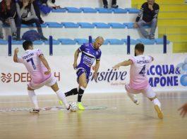 AcquaeSapone Unigross alla festa del Futsal Cobà