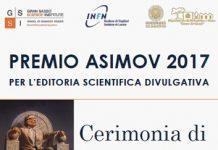 Cerimonia di conferimento del Premio Asimov 2017 per l'editoria scientifica divulgativa