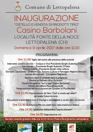 Inaugurazione Casino Barbolani