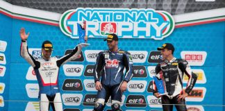 Motori, Federico D'Annunzio conquista un doppio podio a Imola